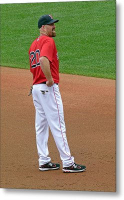 Kevin Youkilis Metal Print by Juergen Roth