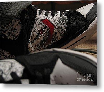Kicks Metal Print by Malik  Church