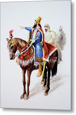 King Astyages Metal Print by Ron Cantrell