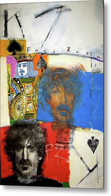 King Of Spades 48-52 Metal Print by Cliff Spohn