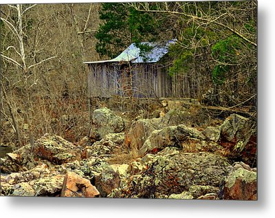 Metal Print featuring the photograph Klepzig Mill by Marty Koch