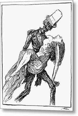 Kubin: Ghost At The Ball Metal Print