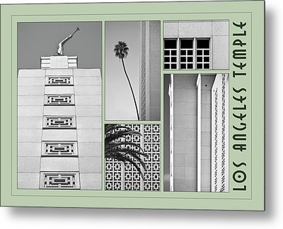 Metal Print featuring the photograph La Temple by Kevin Bergen