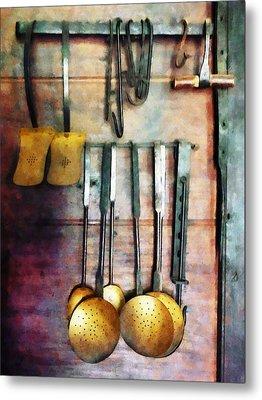 Ladles And Spatulas Metal Print