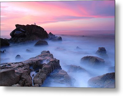 Laguna Beach Sunrise Metal Print by Dung Ma