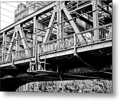 Lake Street Bridge Metal Print