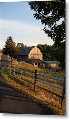 Lancaster County Farm Metal Print by Jim Finch