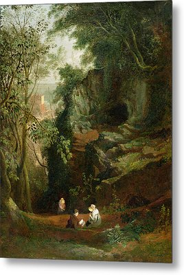 Landscape Near Clifton Metal Print by Francis Danby