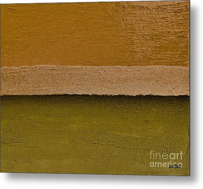 Layer After Layer Metal Print by Marsha Heiken