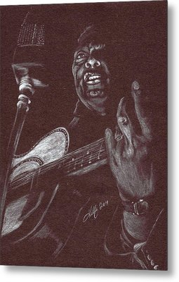 Leadbelly Metal Print by Kathleen Kelly Thompson