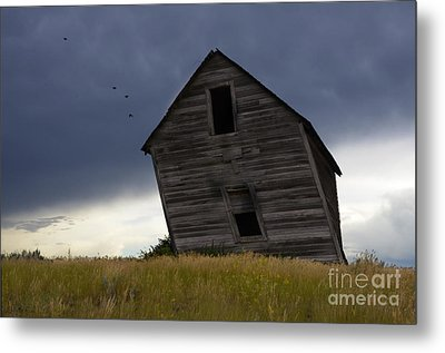 Leaning A Little 2 Metal Print by Bob Christopher