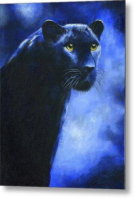 Leopard Metal Print by Diana Lehr