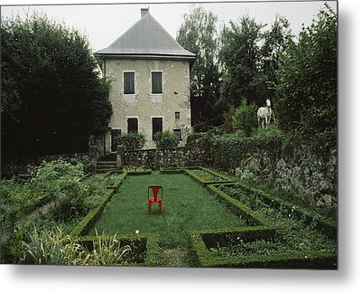 Les Charmettes, Home Of Philosopher Metal Print by James L. Stanfield