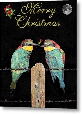 Lesvos Christmas Birds Metal Print by Eric Kempson