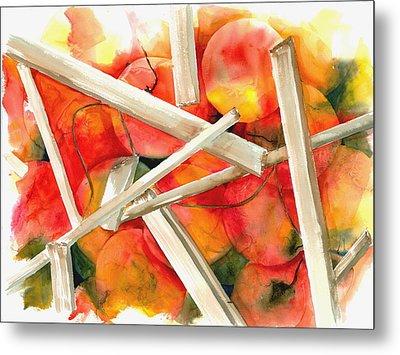 Life Is Not A Bowl Of Cherries Metal Print