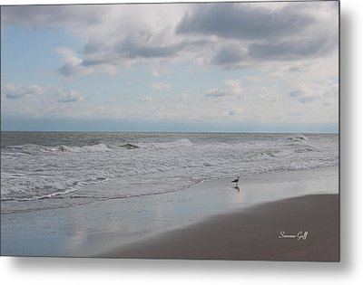Lifes A Beach Metal Print by Suzanne Gaff