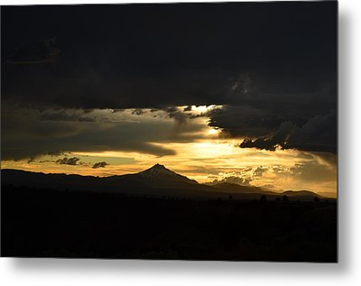 Light In Darkness Metal Print