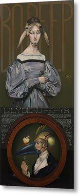 Lily Beau Pepys Metal Print by Patrick Anthony Pierson