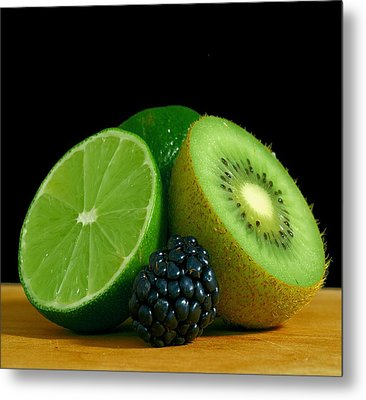 Lime It Up Metal Print