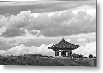 Metal Print featuring the photograph Looks Like Korea by Kevin Bergen