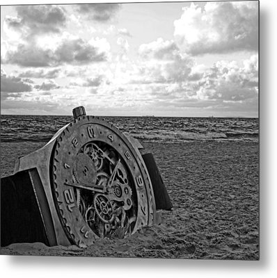 Lost Time Metal Print by Gordon Pressley