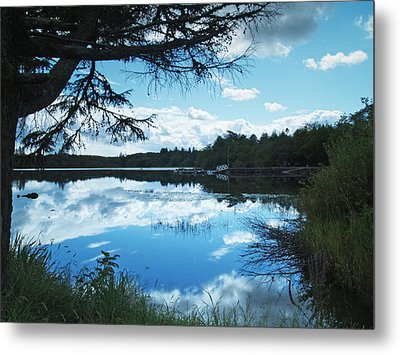 Lough Eske Metal Print