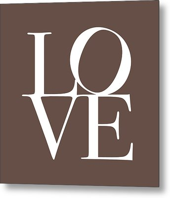 Love In Chocolate Metal Print by Michael Tompsett