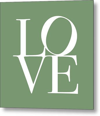 Love In Green Metal Print by Michael Tompsett
