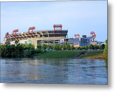 Lp Field Nashville Tennessee Metal Print