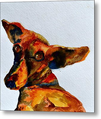 Macey Metal Print by Beverley Harper Tinsley
