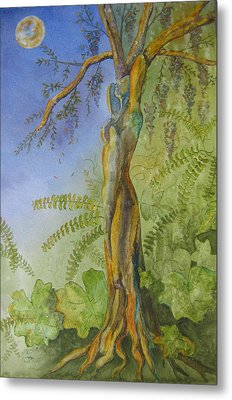 Maiden - Earth Mother Iv   Metal Print by Patsy Sharpe