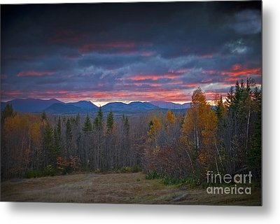 Metal Print featuring the photograph Moosehead Sunset by Alana Ranney