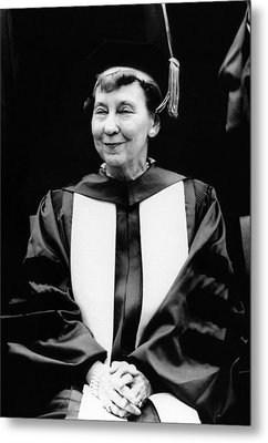 Mamie Eisenhower, Widow Of President Metal Print by Everett