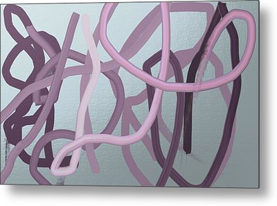 Many Strands -- One Knot Metal Print by Naomi Jacobs