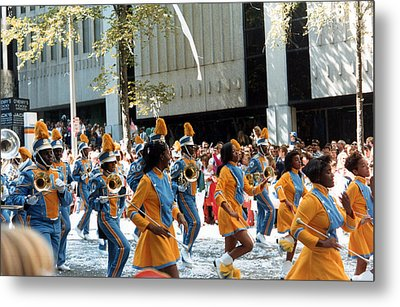 Metal Print featuring the photograph Marching To A Different Drumer by Tanya Tanski