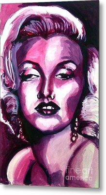 Marilyn Monroe Metal Print by Hannah Chusid