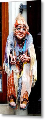 Metal Print featuring the photograph Marionette by Pravine Chester
