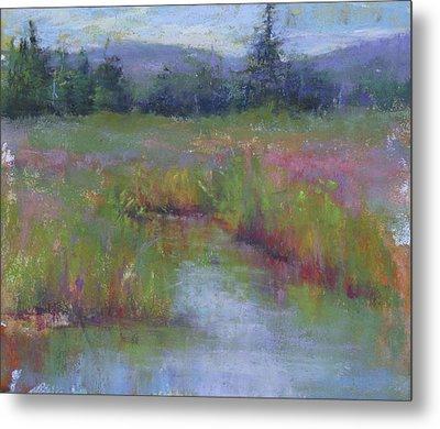 Marsh Colors Metal Print by Susan Williamson