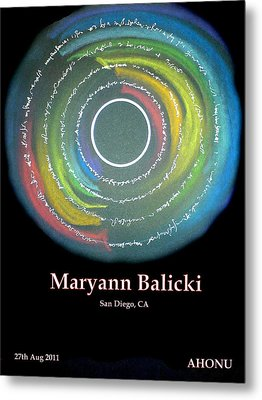 Maryann Balicki Metal Print by Ahonu