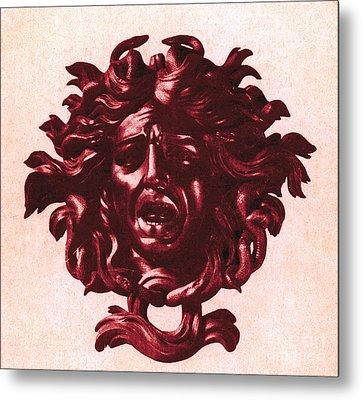 Medusa Head Metal Print