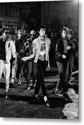 Michael Jackson - Beat It Metal Print by Chris Walter