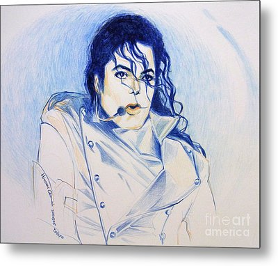 Michael Jackson - History Metal Print