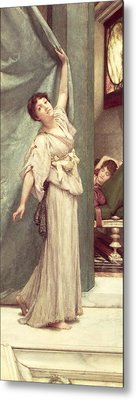 Midday Slumbers  Metal Print by Sir Lawrence Alma-Tadema