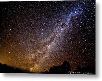 Milky Way Down Under Metal Print by Charles Warren