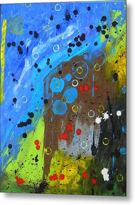 Metal Print featuring the painting Mix It Up by Everette McMahan jr