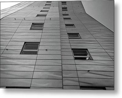 Modern Building Chelsea Nyc 4 Metal Print by Robert Ullmann