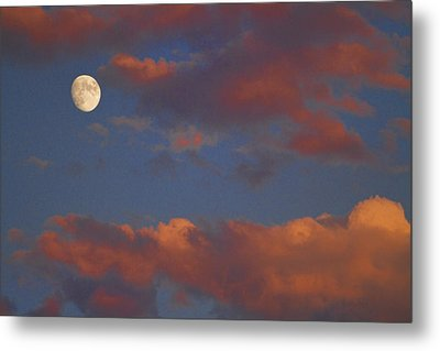 Moon Sunset Metal Print by James BO  Insogna