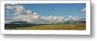Moreno Valley Clouds Metal Print
