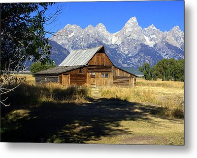 Metal Print featuring the photograph Mormon Row Barn by Marty Koch