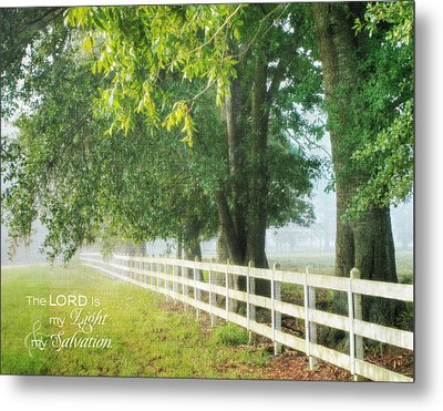 Morning Light - Hdr Metal Print by Mary Hershberger